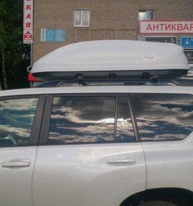 Автобоксы на крышу Turino, Yuago, Lux, Thule и др