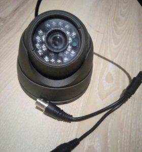 Видеокамера муляж металлическая с подсветкой