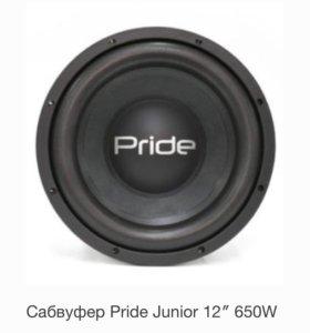 """Сабвуфер Pride junior 12"""""""