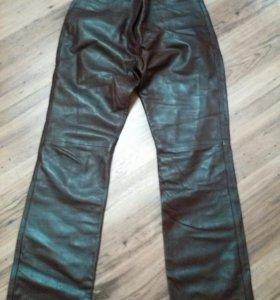 Кожанные брюки женские