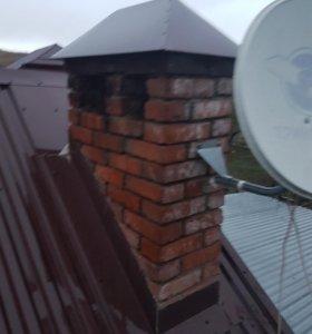 Купольная крышка на вентиляционную шахту.