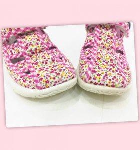 Туфли сандали для девочки zebra ecotex