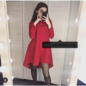 Красное платье 👍👍