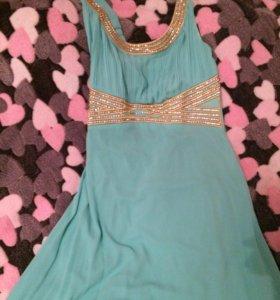 Платье цвета Тиффани (мятный)