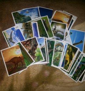 Наклейки для альбома Динозавры