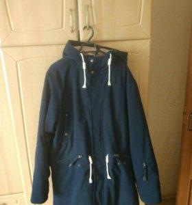 Куртка зимняя в идеальном состоянии