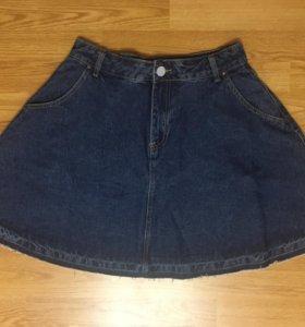 Новая джинсовая юбка, р.46