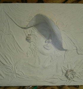 Барельеф- картина