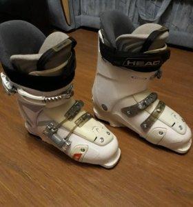 Горнолыжные ботинки р- р 42