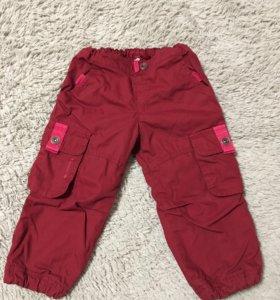 Утеплённые  детские штаны 86-92