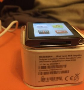iPod Nano 6 8gb + много музыки