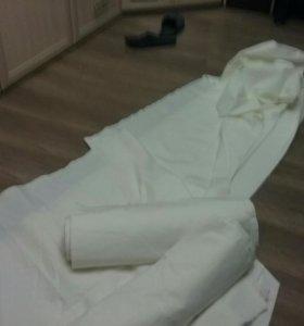 Белая плотная ткань 5м х 0,9м