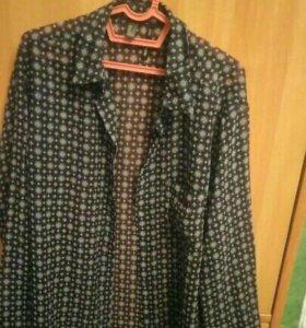 Блузка и 3 платья по 500