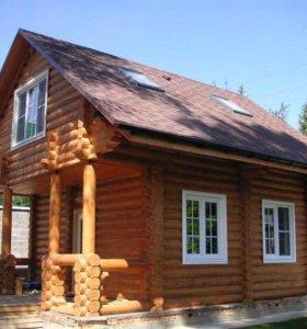 Строительство домов,коттеджей,бань и т.д ...