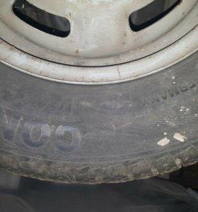 Колеса R 13 Continental липучки.