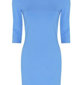 Трикотажное обтягивающее платье