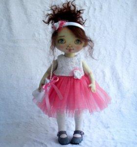 Кукла ручной работы Розочка