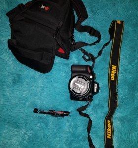 Зеркальный фотоаппарат Nikon D3200 18-55ll Kit