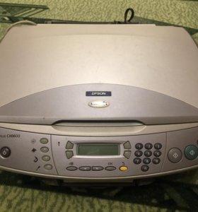 Принтер/сканер/копир МФУ 3в1 EPSON STYLUS CX6600