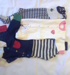 Пакет с боди, штанишки,распашонки