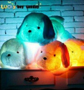 Плюшевые собаки светящийся