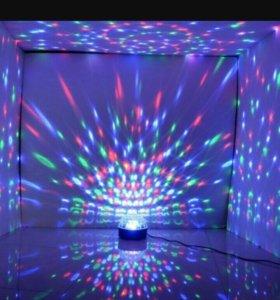 Новогодний светомузыкальный  шар.