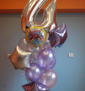 Воздушные шары, оформление, фигуры