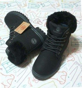TIMBIRLAND ботинки зимние, новые