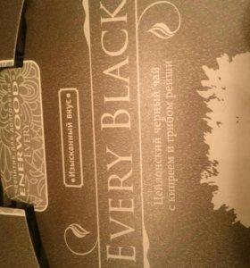 Черный чай в пакетиках