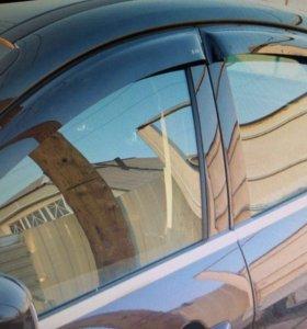 Дефлекторы окон на Nissan Almera N16
