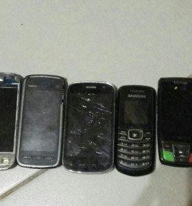 Nokia, samsung, highscreen