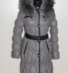 Зимняя куртка-полупальто