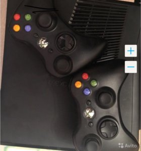 Xbox 360 + kinekt + 50 игр