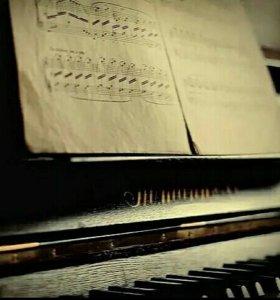 Уроки фортепиано,вокала, сольфеджио