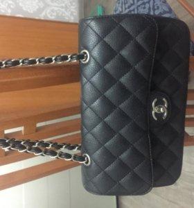 Модная кожаная сумочка Chanel (Шанель)