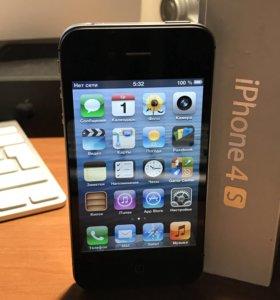 Apple iPhone 4S 16гб, iOS 6.1.3