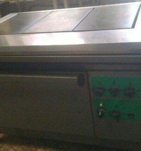 Электрическая плита с духовым шкафом производствен