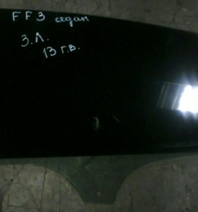 Стекло двери задней левой Ford Focus 3
