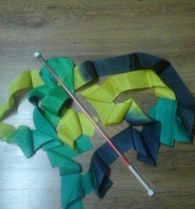 Лента с палочкой  для худ.гимнастики SASAKI Япония