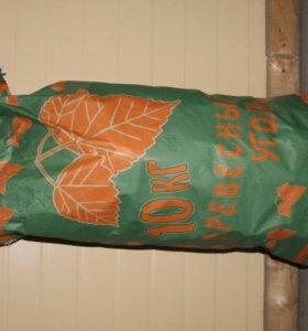 Уголь древесный 10 кг мешок