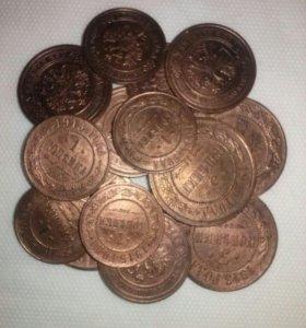 (кладовая медь) Николай2. (15 монет)