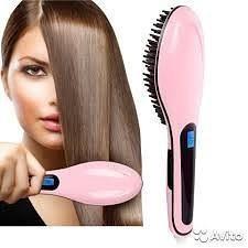 Расческа выпрямитель Fast Hair Straightener HQT-90