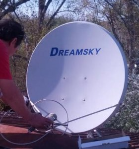 Установка ремонт спутниковых и эфирных антен