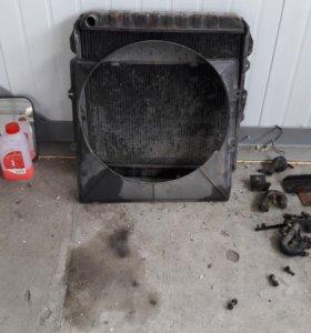 Радиатор прадо.