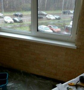 Остекление балконов. Окна
