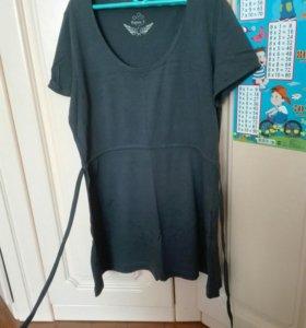 Одежда для беременных (джинсы, туника)