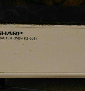 Гриль печка Sharp. Рабочая. Made in Japan.