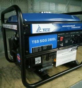 Бензиновый генератор бензогенератор 2,8 квт