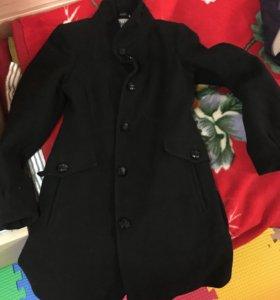 Пальто кашемировое демисезонное