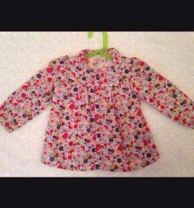 Хлопковые блузки 2-3г